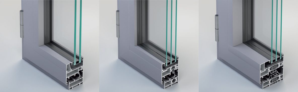 Infissi in alluminio Taglio Freddo e Taglio Termico a prezzi offerta ...